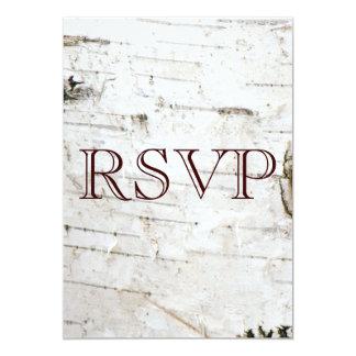 Tarjeta de RSVP Comunicados Personales