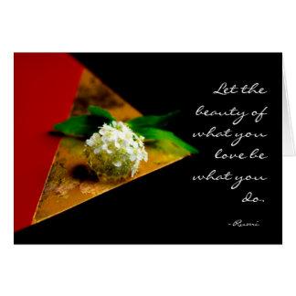 Tarjeta de Rumi