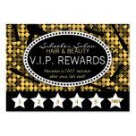 Tarjeta de sacador de encargo atractiva de oro de  tarjeta de visita