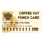 Tarjeta de sacador de la bebida del logotipo de la tarjeta de negocio