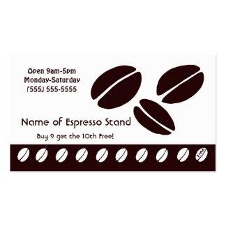 Tarjeta de sacador de la lealtad del soporte del c plantillas de tarjeta de negocio