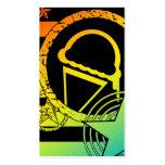 tarjeta de sacador del dripz del helado tarjetas de visita