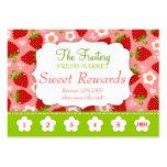 Tarjeta de sacador del promo de las recompensas de tarjeta de visita
