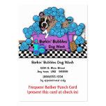 Tarjeta de sacador frecuente del bañista para la t tarjeta de negocio