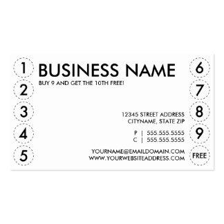 tarjeta de sacador llana plantilla de tarjeta personal