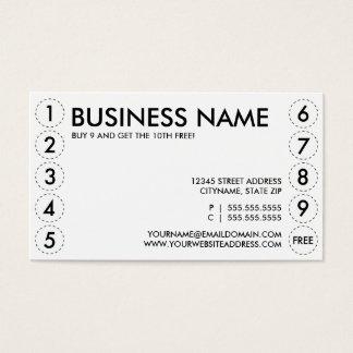 tarjeta de sacador llana tarjetas de visita
