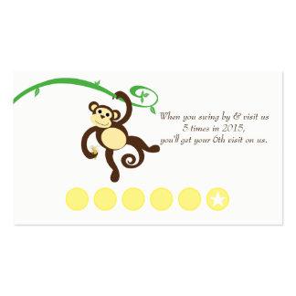 Tarjeta de sacador promocional del descuento del tarjetas de visita