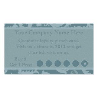 Tarjeta de sacador promocional del descuento tarjetas de visita