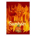 Tarjeta de Samhain
