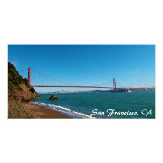 Tarjeta de San Francisco Bay Tarjeta Fotográfica Personalizada