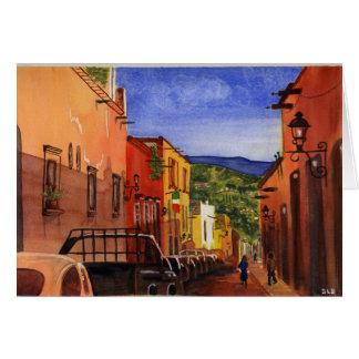 Tarjeta de San Miguel de Allende