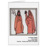 Tarjeta de Santa Familia Santo del La