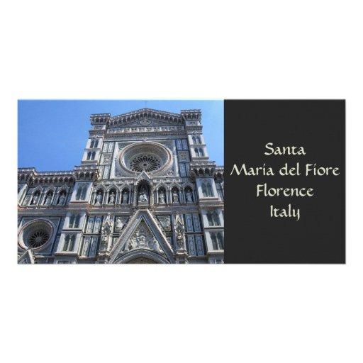 Tarjeta de Santa María del Fiore Photo Plantilla Para Tarjeta De Foto
