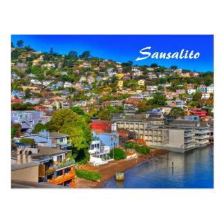 Tarjeta de Sausalito Postal