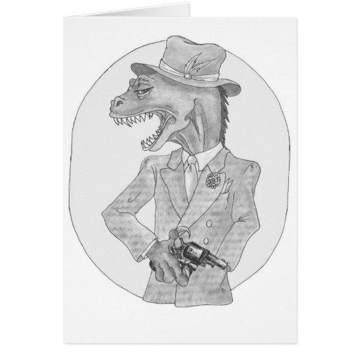 Tarjeta de Sauvosaurus