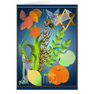 Tarjeta de Seder del Passover