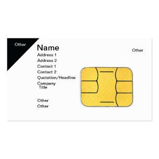 Tarjeta de SIM Tarjetas De Visita