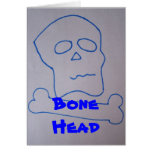 Tarjeta de Sr. Bonehead