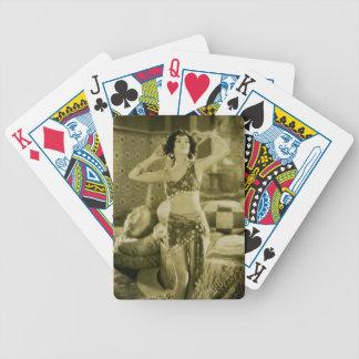 Tarjeta de Sterevoview de la belleza de la era de Baraja Cartas De Poker