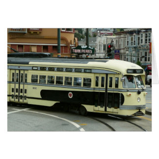 Tarjeta de teleférico de San Francisco