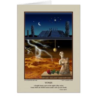 Tarjeta de Venus