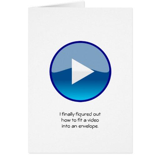 Tarjeta de vídeo - código de QR permitido