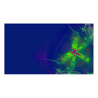 Tarjeta de visita abstracta de la luciérnaga
