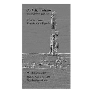 Tarjeta de visita adaptable de la plataforma de pe