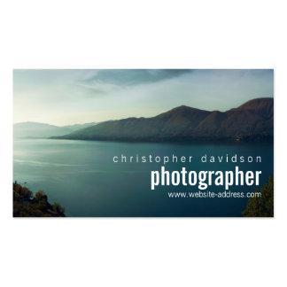 Tarjeta de visita adaptable del fotógrafo