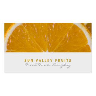 Tarjeta de visita al por mayor anaranjada de la
