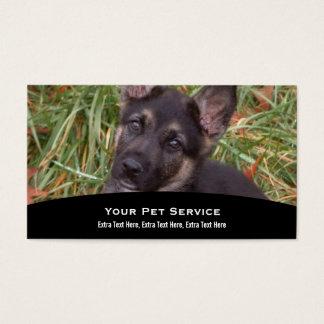 Tarjeta de visita animal