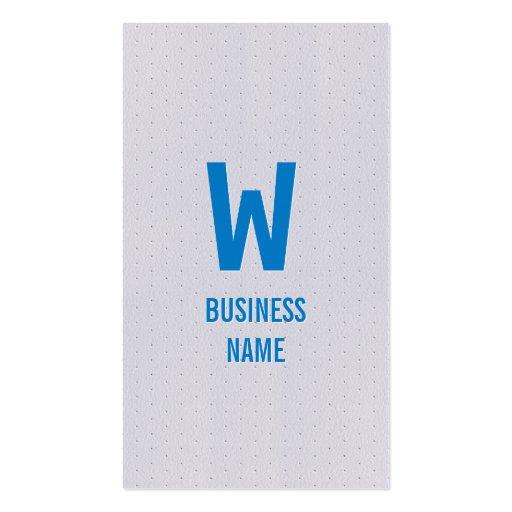 Tarjeta de visita azul moderna del economista del