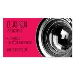 Tarjeta de visita básica de la fotografía (pétalo