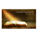 Tarjeta de visita Biblia-Cristianismo-Religiosa