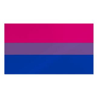 Tarjeta de visita bisexual de BiNet los E.E.U.U.
