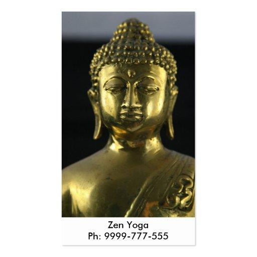 Tarjeta de visita Budha
