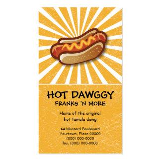 Tarjeta de visita caliente de Dawg