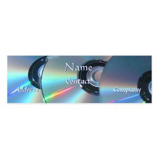 Tarjeta de visita CD de DJ II