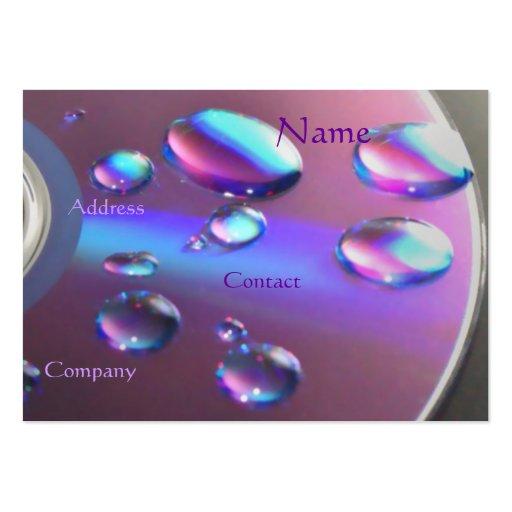 Tarjeta de visita CD de DJ - personalizable