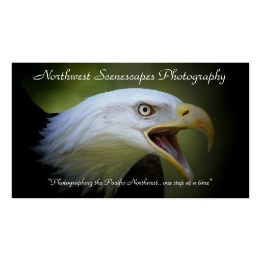 Tarjeta de visita con el águila