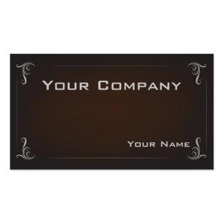 Tarjeta de visita corporativa mínima elegante de B