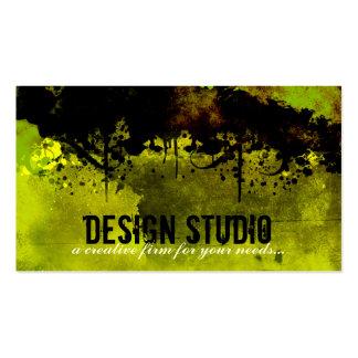 Tarjeta de visita creativa del diseño