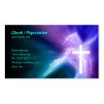 Tarjeta de visita Cristianismo-Religiosa de la cru