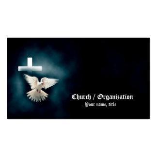 Tarjeta de visita Cristianismo-Religiosa de la pal