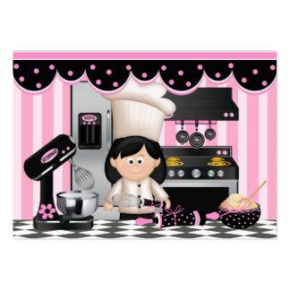 Tarjeta de visita culinaria - SRF