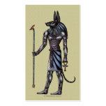 Tarjeta de visita de Anubis