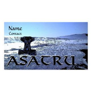 Tarjeta de visita de Asatru