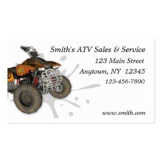 Tarjeta de visita de ATV