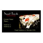 Tarjeta de visita de Bakery Dessert Company