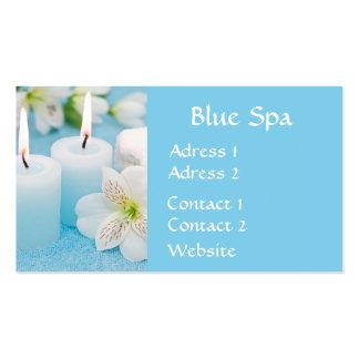 Tarjeta de visita de BlueSpa